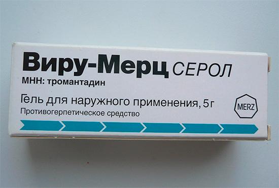 Противогерпетическое средство Виру-Мерц Серол (гель)