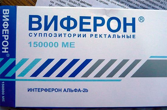 Препарат интерферона - Виферон